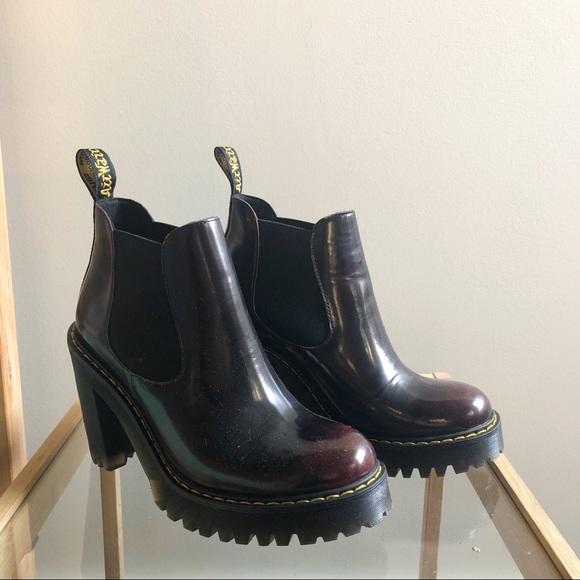Dr Martens Hurston Heeled Chelsea Boot